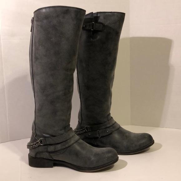 eefe2c002f8 Madden Girl Shoes - Madden Girl Canyon Women s Boots Blue Zipper 8.5